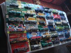 Collection - brewery trucks, advertising trucks, many vintage trucks and special editions, in original packaging, 84 parts - 1995 / 2006