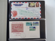Netherlands Antilles and Suriname 1957/1992 - Collection of FDCs in 4 albums