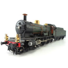 Artitec H0 - 22.224.01 - Steam locomotive with tender series 3700 in museum version with full sound.