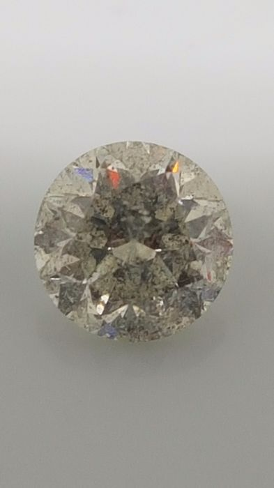 1.51 ct - Round Brilliant - White - H / SI2