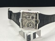 Harry Winston - AVENUE SQUARED 350/LQTZWL/00 - 350-LQTZWL- 18k white gold  dual time  - Women - 2011-present