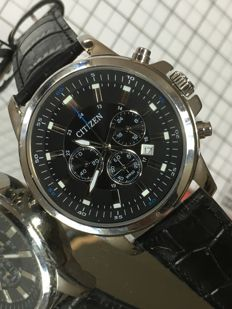 """Citizen """"Chronograph"""" - men's wristwatch -2017 -- used, in mint condition."""