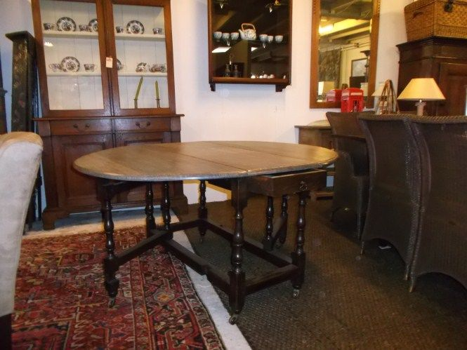 English gateleg table
