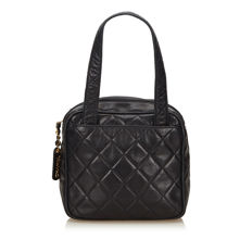 Chanel - Matelasse Lambskin Leather Handbag