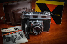 superb Kodak Retina III C  model with the big C  with his bag, box and instructions