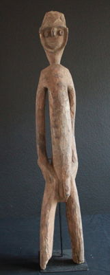 Very Old, Primitive, NOGWI Fertility Statue of the NUKUMA from PNG