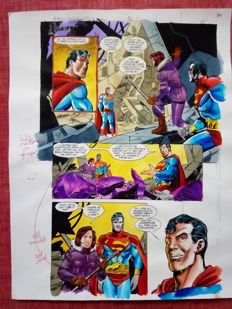 Glenn Whitmore - Original Colourisation (Color Guide Art) - Superman #567 - Page 21 - (1999)