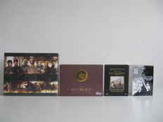 The Mummy - Star Wars - Pillars of the Earth & Out of Africa - Luxe DVD box sets