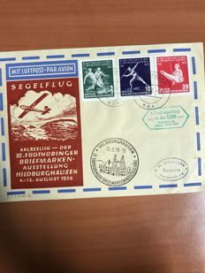 GDR or East Germany period 1940/1950 - First Day Covers, envelopes, cards in various conditions.