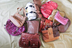 Collection of 12 bags