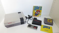 Nintendo NES incl Super Mario Bros 3 in original box