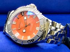 Krieger - Sea Stallion Limited Edition  - K1001S1R20- 800M waterproof Orange Dial - Men - 2011-present