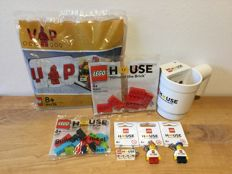 Lego 40178 VIP Set + 6 exklusive Lego House – Home of the Bricks – Sets