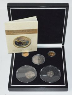 Netherlands provincial and Mexico - Coin set ´De Rooswijk VOC 1737´ - VIP Edition (01/21) - gold