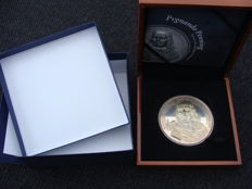 "The Netherlands  - Silver token ""Pvgnando / Michiel de Ruyter"" in case"