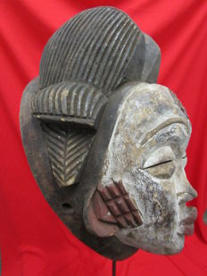 POUNOU Mask - Gabon - 2nd half of the 20th century
