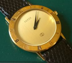Gucci – 7700 M Swiss Made – Beautiful men's watch, in good condition