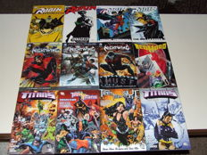 DC Comics - Robin, Nightwing, Titans - 15x Trade Paperbacks - 1st Edition - (2002/2012)