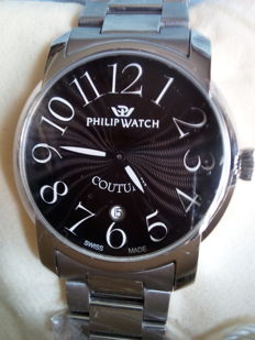 Philip Watch - COUTURE  - 8253198525 - 76366 - Heren - ATTUALE - NUOVO Swiss Made