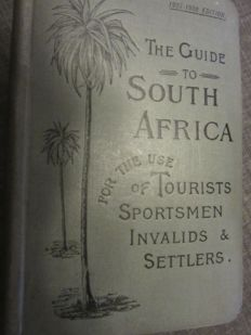 Samler Brown & Gordon Brown - The guide to South-Africa for the use of tourists, sportsmen (...) - 1907