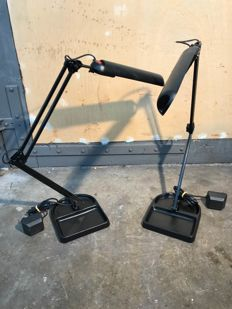 Lival poco - Two desk lamps 'global'