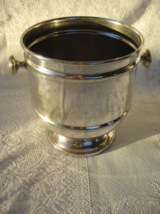 Ice bucket for Champagne, Silver plated, Royal England, 20th century