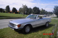 Mercedes Benz 350SL / 4.5 Roadster - Fabrication 1973