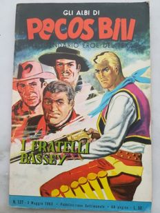 "Pecos Bill - 31x albums featuring ""Leggende Indiane"" by Hugo Pratt (1962-63)"