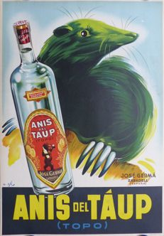 A. Gil - Anis del Taup (Topo) - c. 1940