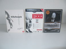 Alfred HItchcock - Lot of 3 luxe DVD box sets - 22 dvd's in total