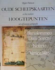 Reference works; 2 edition on antique ship maps - 1972/1988
