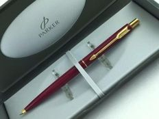 Parker Classic ballpoint pen Lacquer Cerise Red GT very rare
