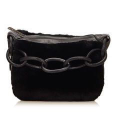 Chanel - Fur Shoulder Bag
