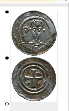 Western or Northern Netherlands - Anonymous medal (1175 - 1225) - silver