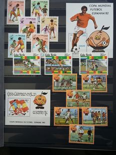 Sports theme 1948/2000 - collection in booklets