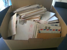 World - batch of letters and special issues