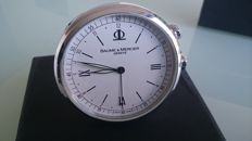 Baume and Mercier travel pendulette, year: 2011, no reserve price.