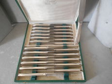 Adolph Dumarchey silverware -Table knives set - 24 pieces