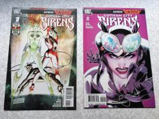 DC Comics - Gotham City Sirens - Issues #1 and #2 - 1st Solo Comic - (2009)
