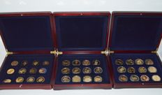 World - Lot of medals from various years and countries (36 pieces) in canteens