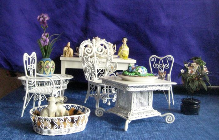 Garden Furniture For Doll House Catawiki