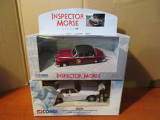 Corgi - Schaal 1/43-1/36 - the Saint and Inspector Morse
