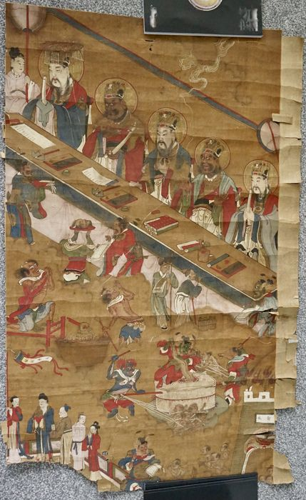 Painting of Hell Scenes - China - ca. 18th/19th Century