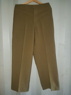 Original autographed English trousers