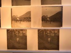 Stereo glass negatives 51 x - France - Switzerland - Congo - Belgium?? - Steamer