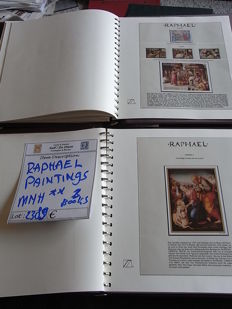 Religion: Art and Paintings - Topical collection Raphael in 2 albums