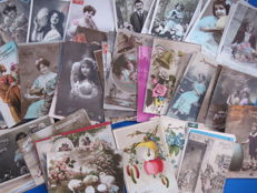 Old fantasy post cards ( 105x)  Easter