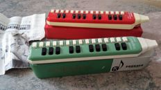 2 old German Melodicas 1960-1970