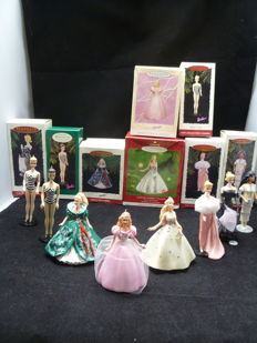 Hallmark - Christmas ornaments - Barbie - 8 x