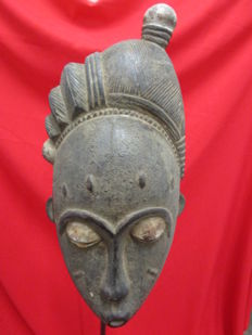 BAOULE Mask - Côte d'Ivoire - 2nd half of the 20th century